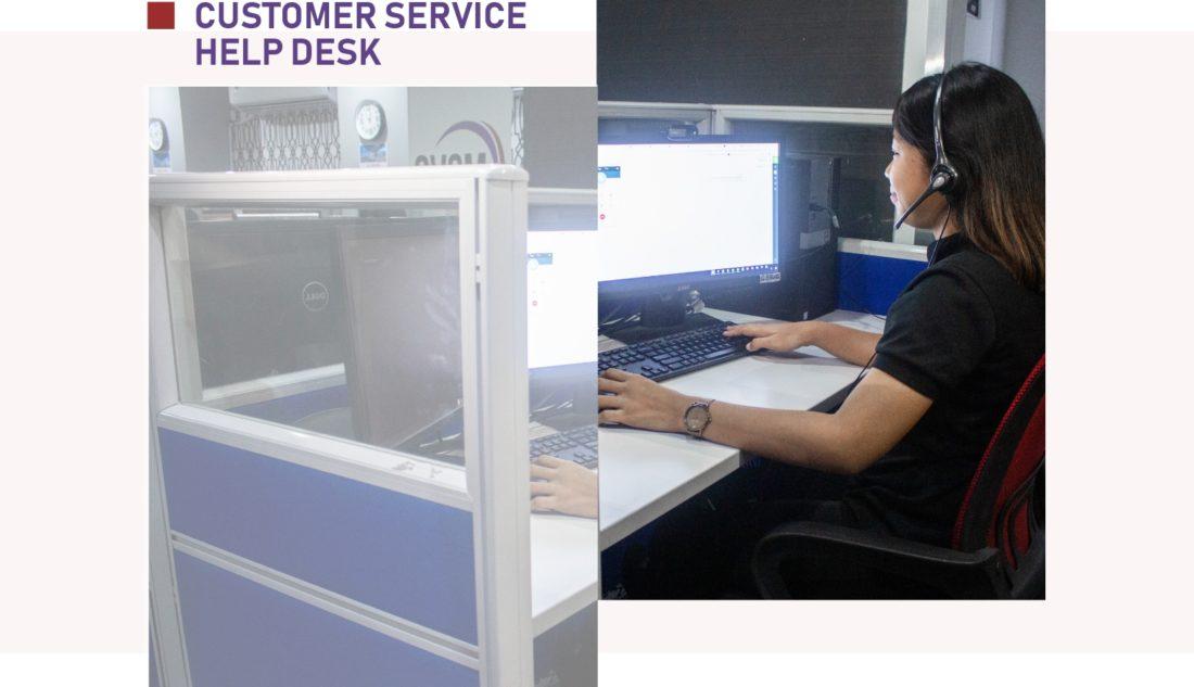 Customer Service   Help Desk