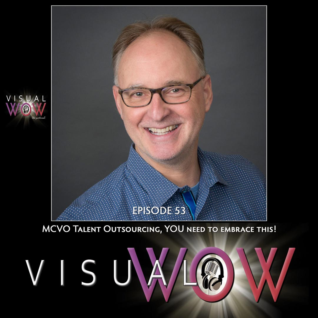 MCVO Talent Outsourcing Co-Founder Podcast Guesting With VisualWOW